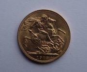 22ct Gold Full Sovereign, George V, 1912