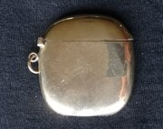 9CT Gold Vesta Case, Goldsmiths & Silversmiths Co