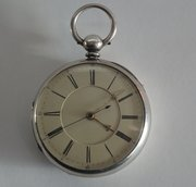 Antique Silver Centre Seconds Chronograph, c1871