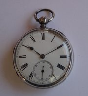 Antique Silver Pocket Watch, Brownlee Edinburgh