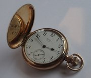 Antique Waltham Hunter Cased Pocket Watch c1922