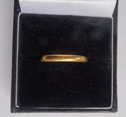 English 22CT Gold Ring, CP&Co, London c1930