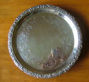 George III, Scottish Silver Salver/Tray, Edinburgh