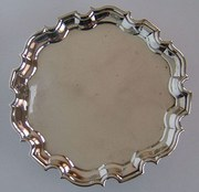 George II, English Silver Tray, London c1735