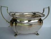 Georgian Irish Silver Bowl, Dublin 1822