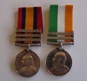 Gordon Highlanders Medal Pair Boer War QSA & KSA