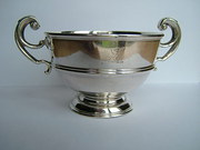Irish Silver Bowl, West & Son, Dublin c1915