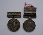 Khedive's Sudan Medal & QSA, Cameron Highlanders