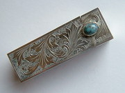 Lovely Vintage Silver Lipstick Holder