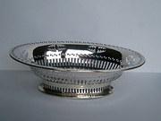 Quality Antique Edwardian English Silver Basket
