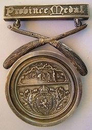 Royal Caledonian Curling Club Province Medal