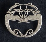 Scottish Provincial Silver Brooch, Tain Silver