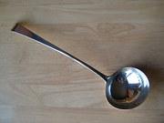 Scottish Provincial Silver Soup Ladle, Aberdeen