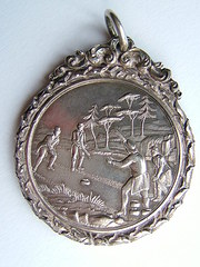 Scottish Silver Grand Caledonian Curling Medal (1)