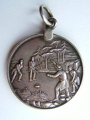 Scottish Silver Grand Caledonian Curling Medal (2)