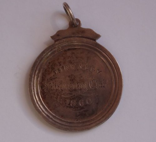 Scottish Silver Kirkcaldy Swimming Club Medal 1860