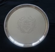 George III, Scottish Silver Presentation Salver