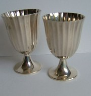 Sterling Silver Liquer Cups by Tiffany & Co