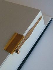 Vintage 9CT Gold Asprey Book Page Marker