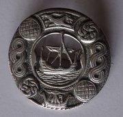 Vintage Celtic Iona Viking Brooch c1947