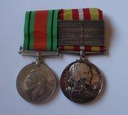 Voluntary Medical Service Medal & Defence Medal