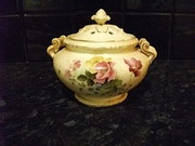 Royal Worcester Lidded Jar