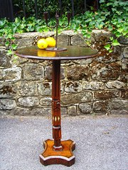 irish folk art table