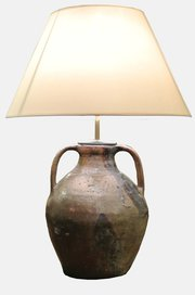 17th c.  Pouring Jug Lamp