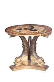 19th c. Darmanin Marble Table