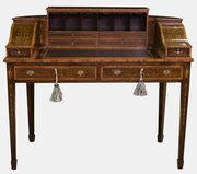 19th c. Rosewood Carlton House Desk