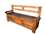 Antique Elm Bench