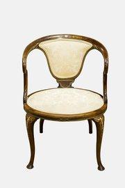 Edwardian Mahogany Bedroom Chair