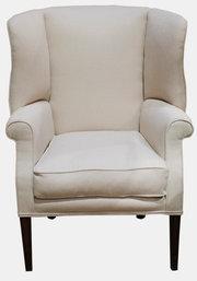 Elegant Wingback Armchair