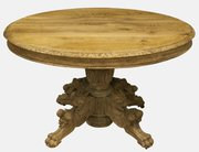 French Bleached Oak Centre Table