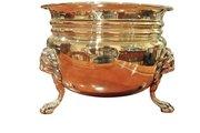 George III Brass Planter