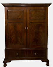Georgian Mahogany Cupboard