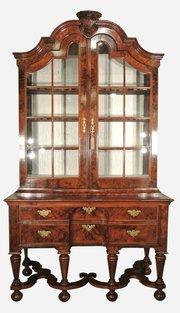 Magnificent 18thC Walnut Cabinet