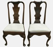 Pair George I Mahogany Side Chairs