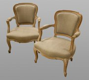 Pair Of Fauteuil Chairs