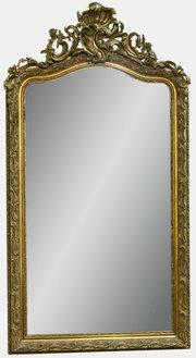 Rococo Style C Scroll Mirror