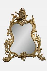 Rococo Style Easel Mirror