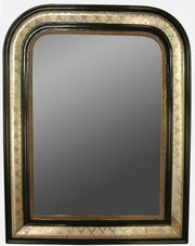 Silver Gilt Louis Phillippe Mirror