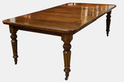 Victorian Walnut Extending Dining Table