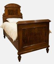 Walnut Single Bed