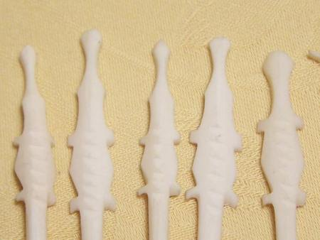 19c Ivory Cocktail Sticks 11 pcs.
