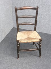 A Morris & Co Arts and Crafts Ebonised Childs Chair