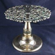 Art Nouveau Bronze Tazza or Stand circa 1900