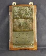 Art Nouveau Jugendstil Wall Letter Rack c1910