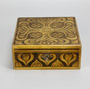Art Nouveau Poker Work Box