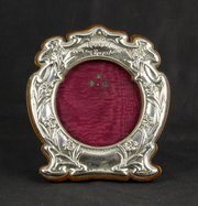 Art Nouveau Shakespeare Silver Frame Bham 1904